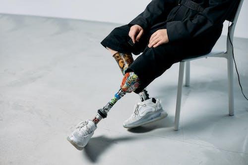 คลังภาพถ่ายฟรี ของ การประดิษฐ์, ขาเทียม, คนที่ถูกตัดแขนหรือขา
