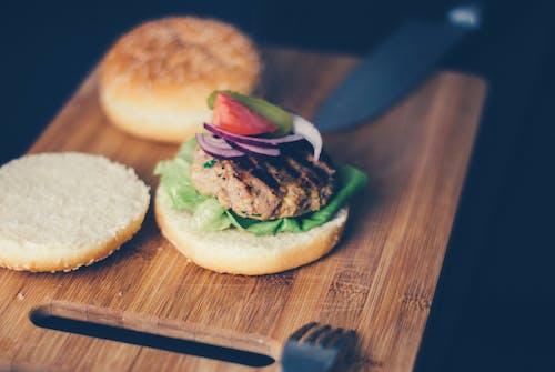 Gratis arkivbilde med boller, brød, burger, delikat