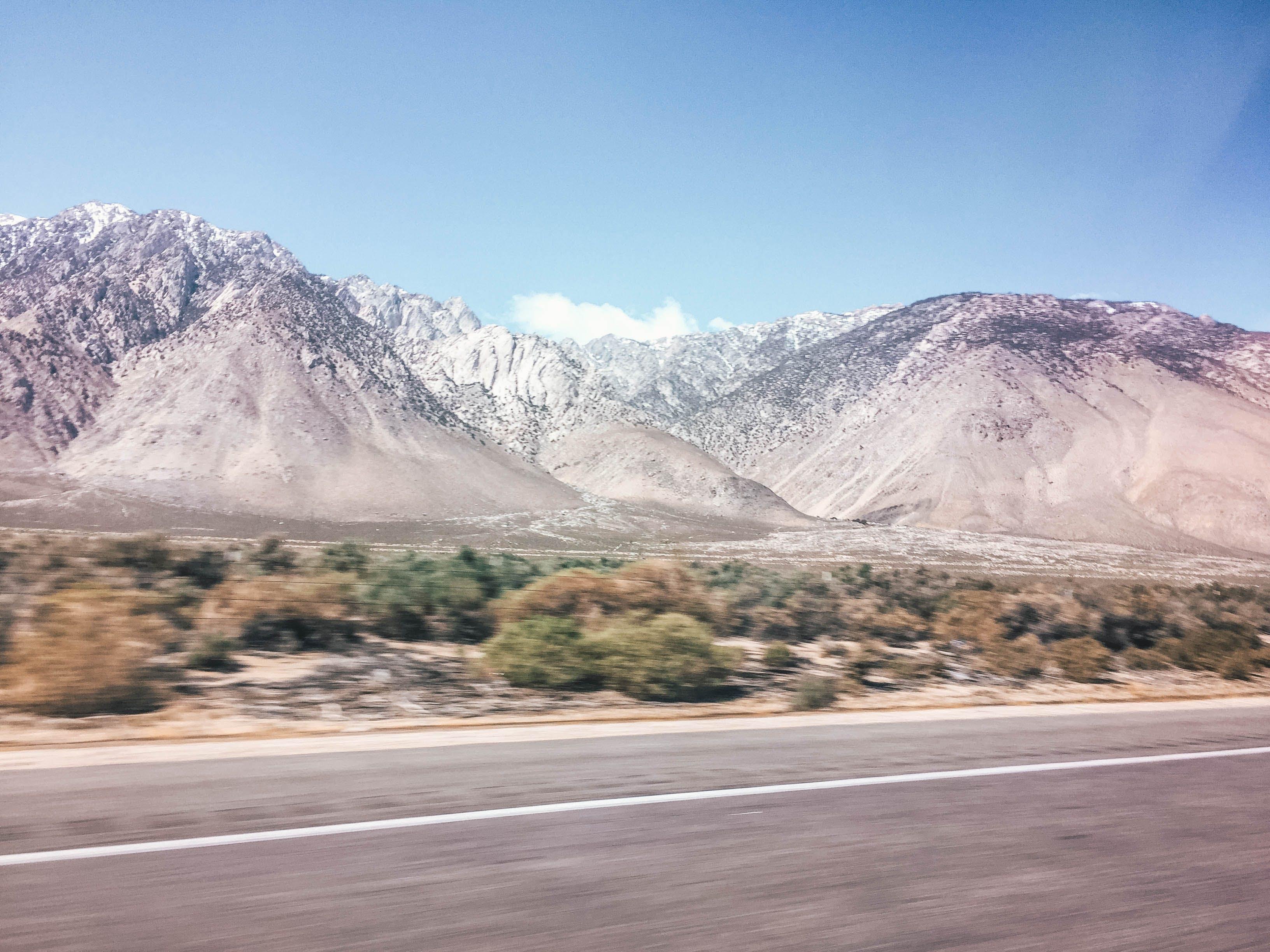 Free stock photo of blur, hazy, mountains