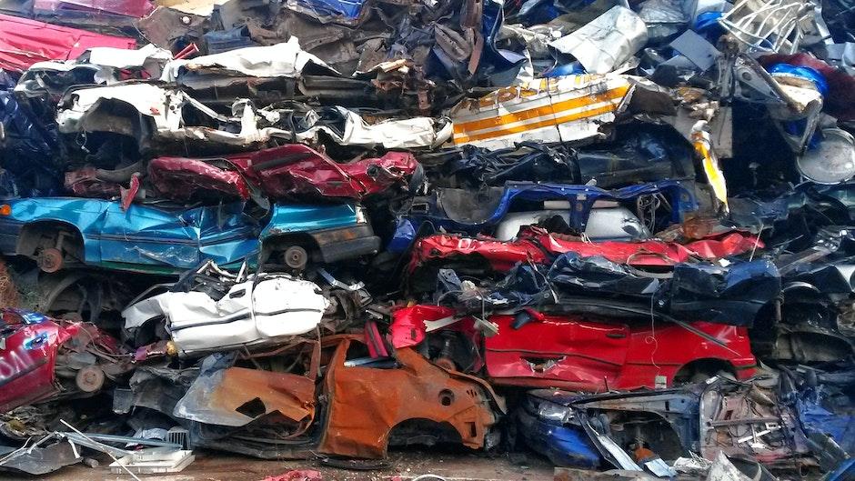 car, scrap heap