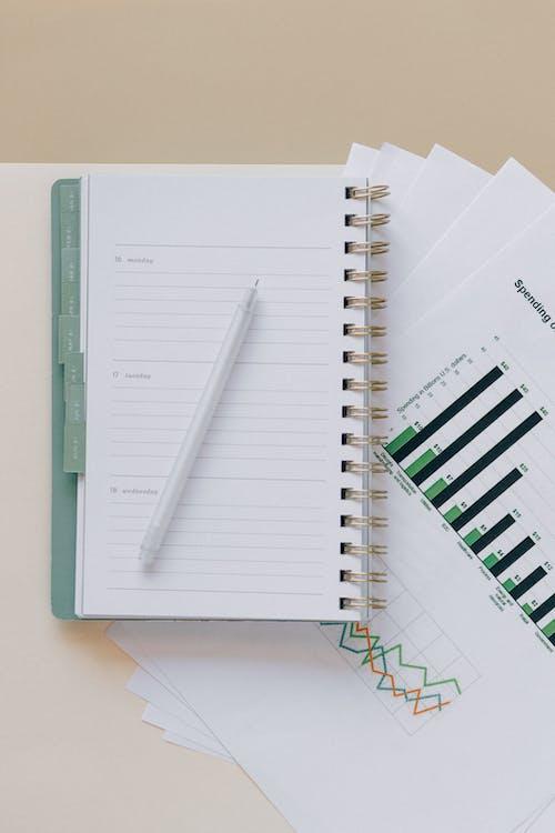 Gratis stockfoto met aantekening, account, accountant