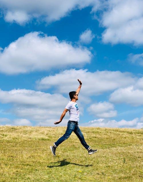 天空, 幸福, 快樂 的 免费素材图片