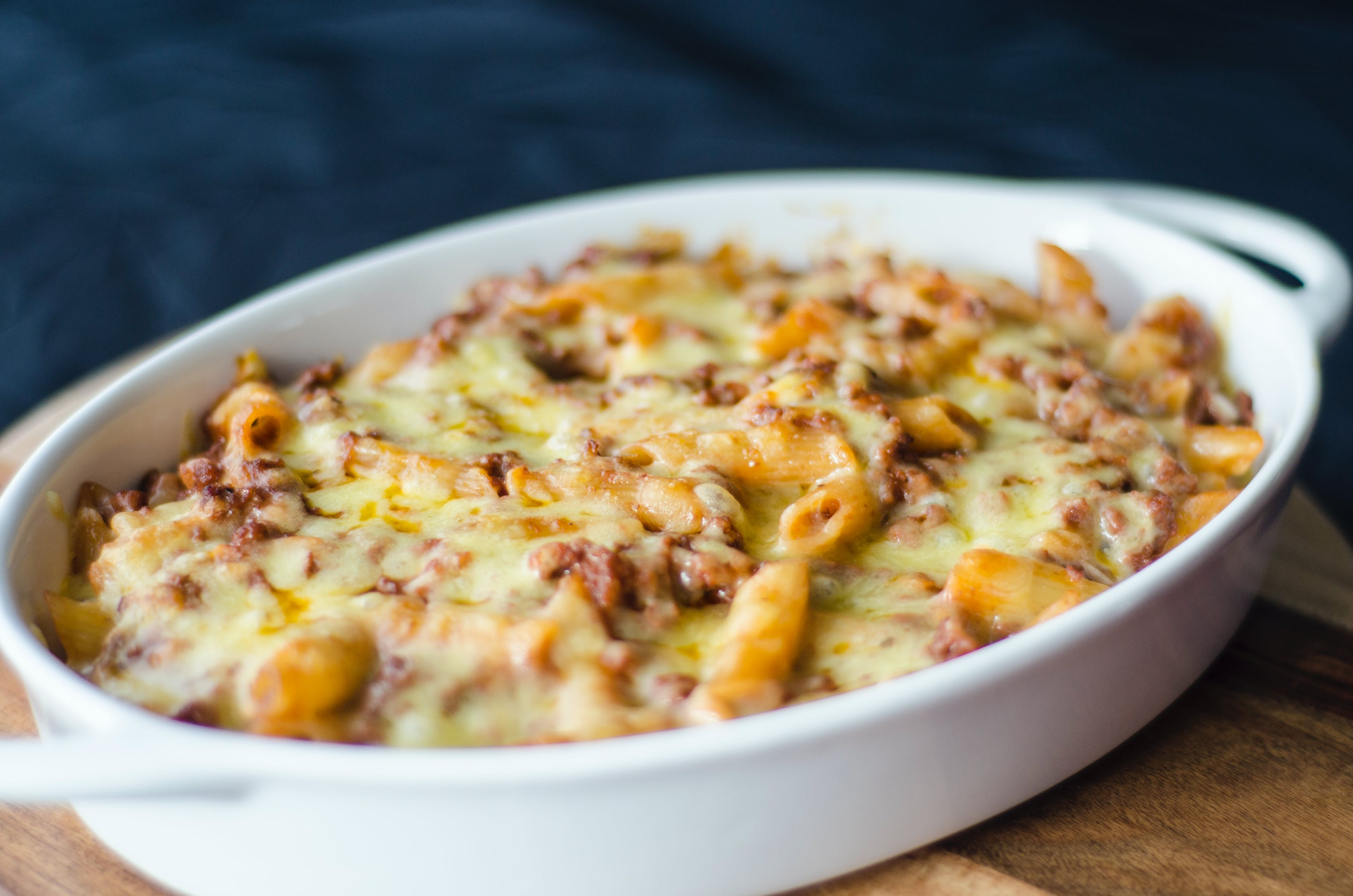 Close-up Photography of Baked Mac