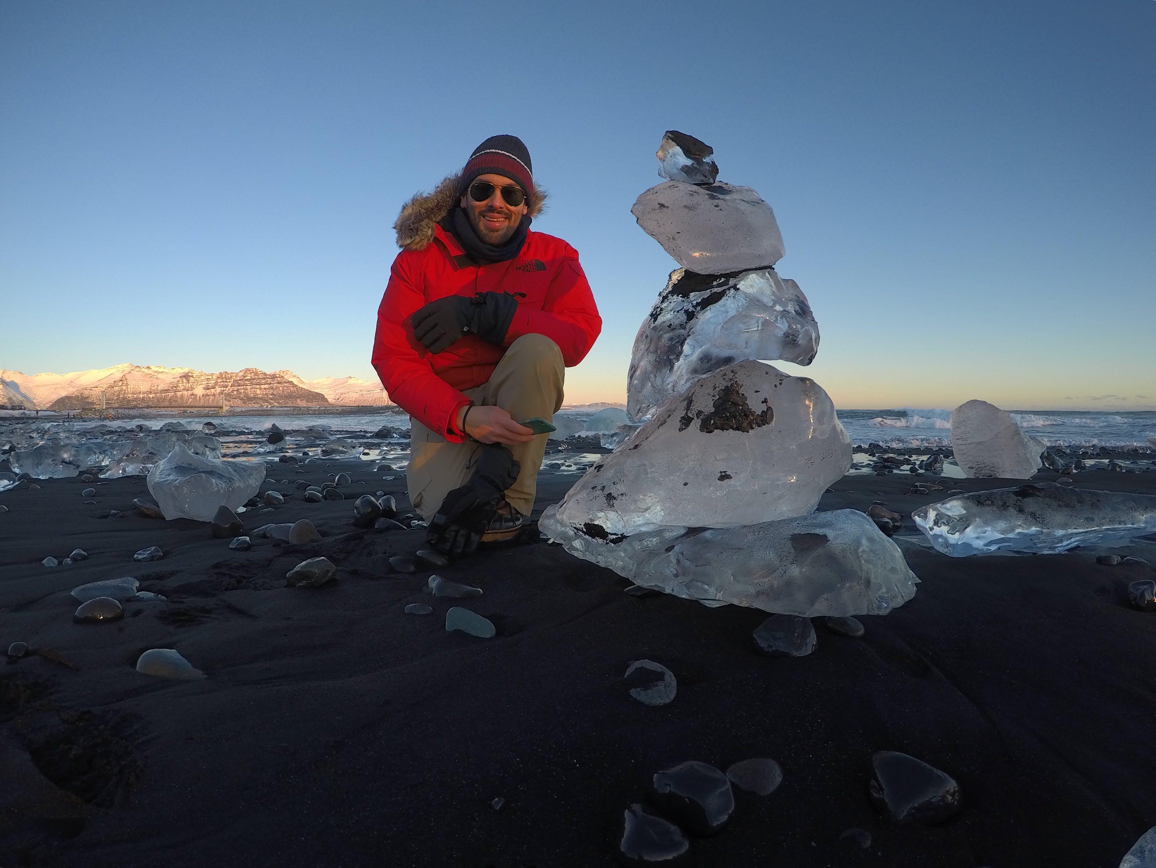 Free stock photo of glacier, gopro, iceland, nature
