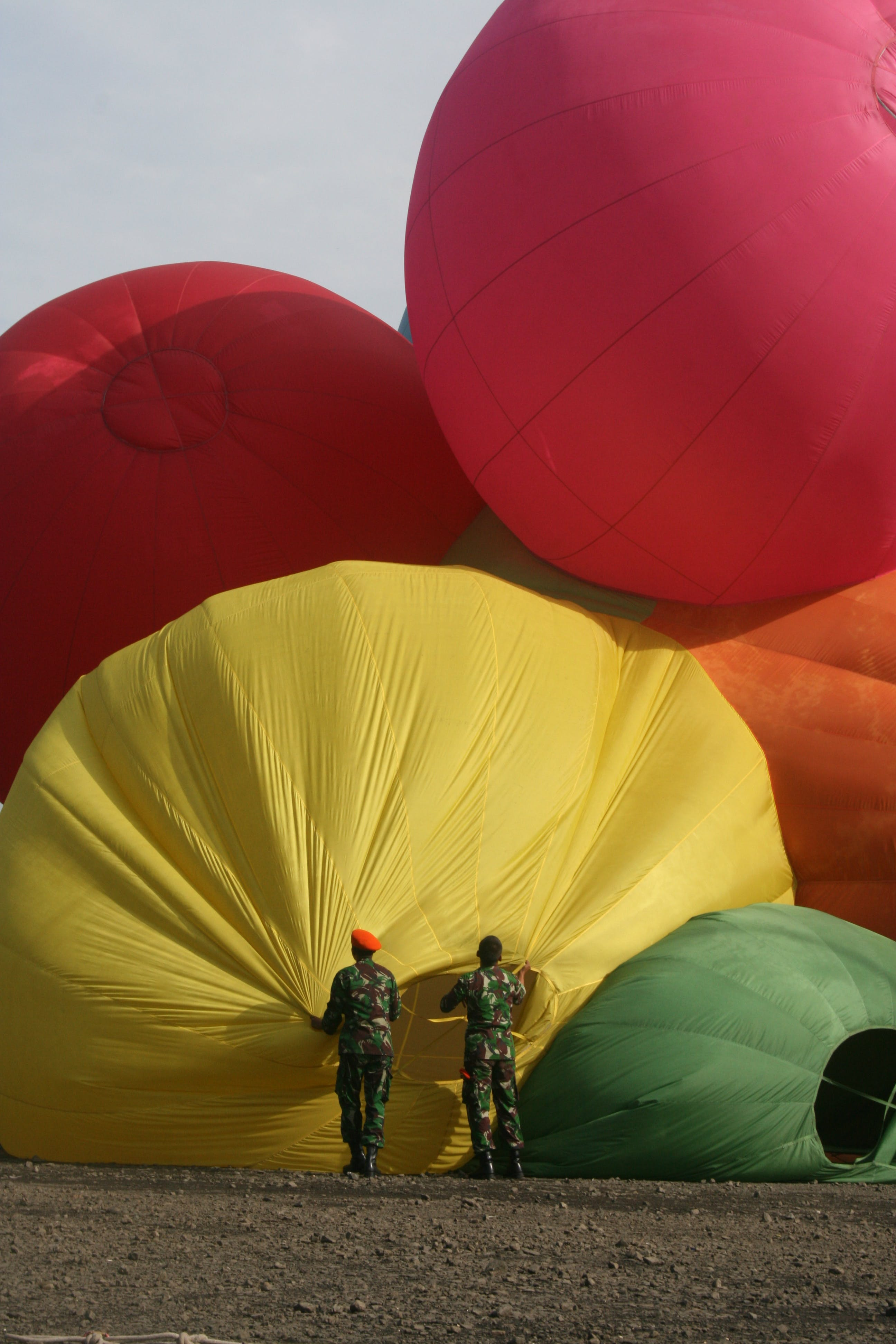 Free stock photo of hot air balloons, March 2010