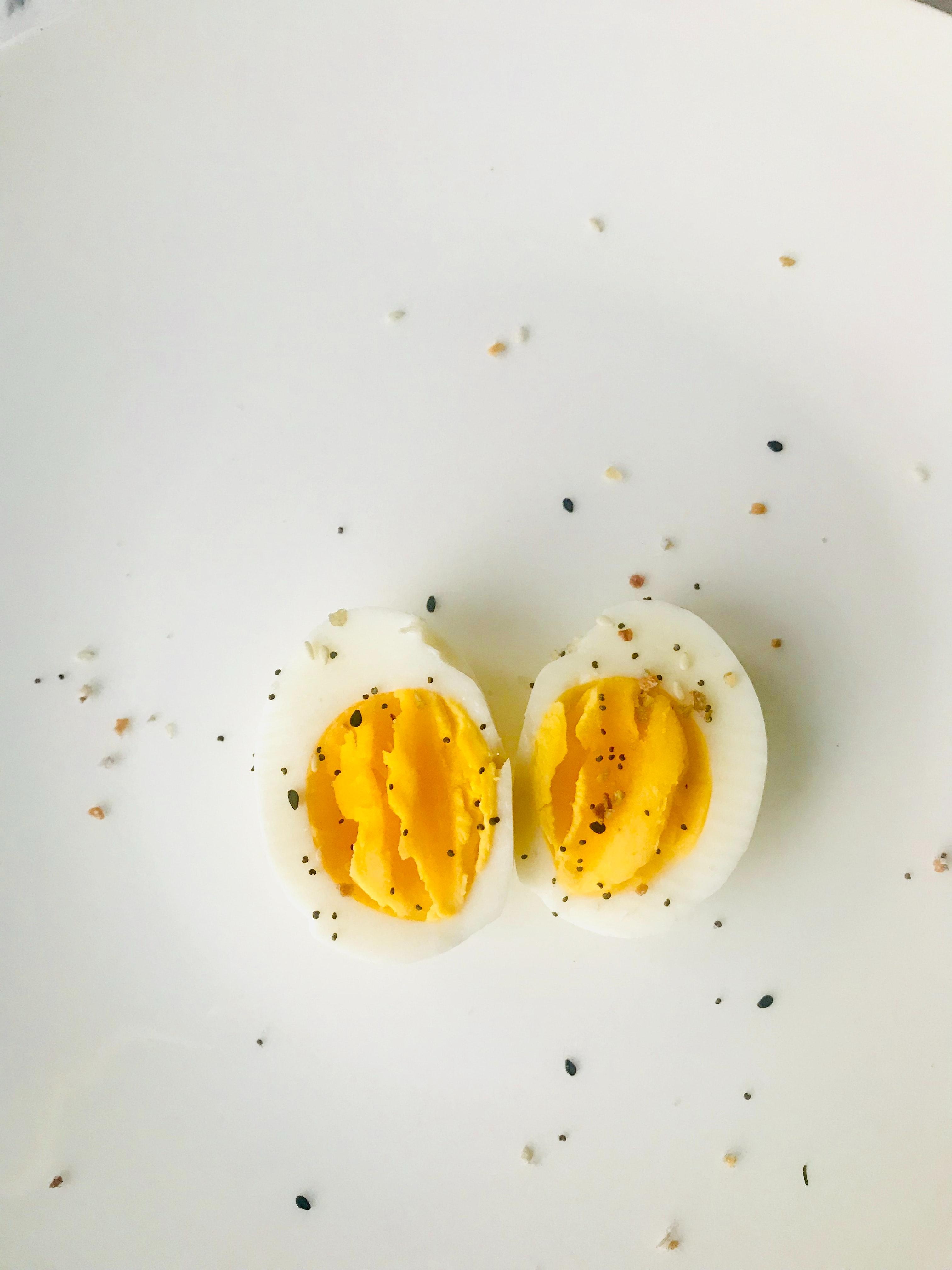 Slice Of Eggs On Cakes 183 Free Stock Photo