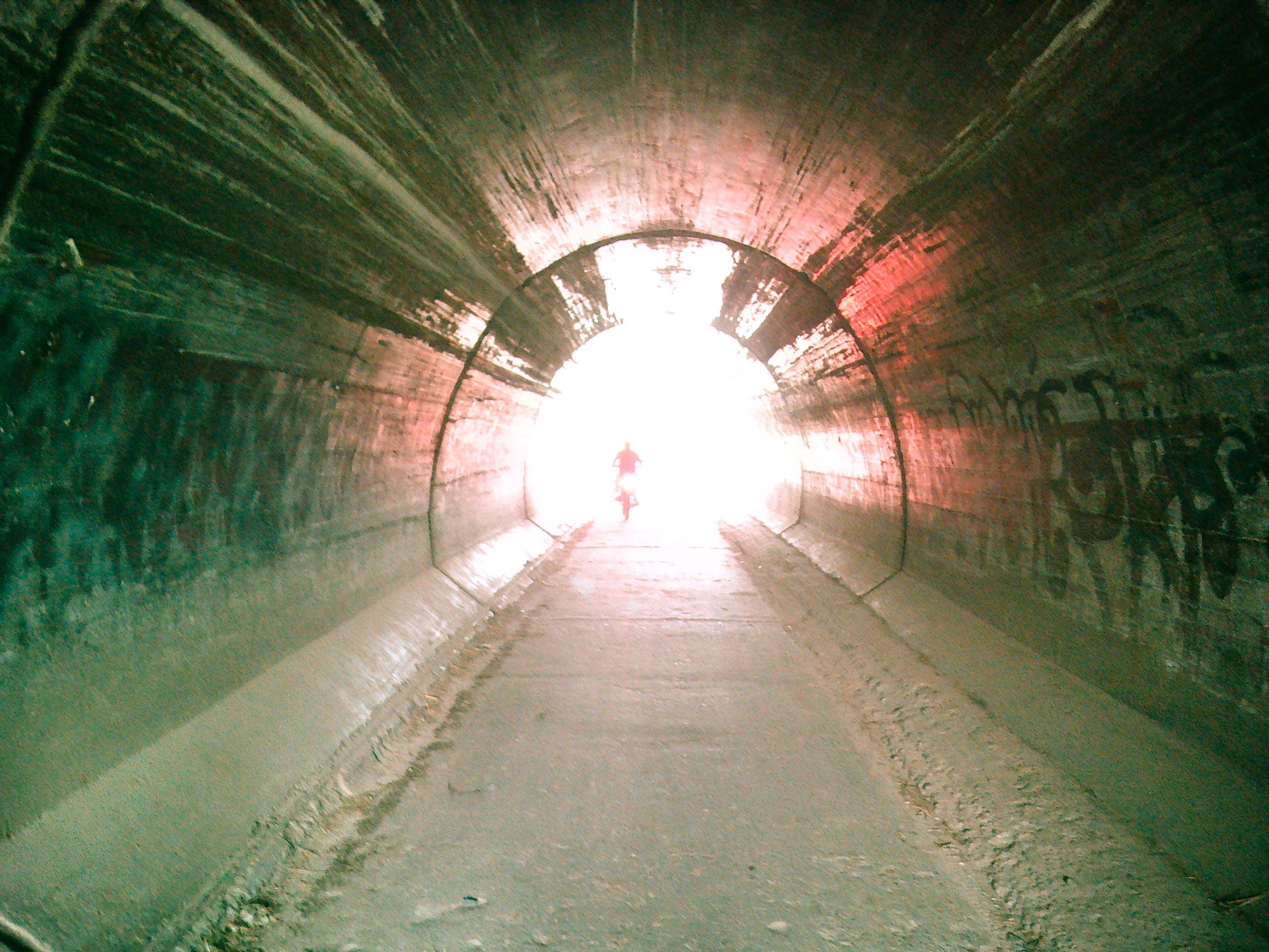 Imagine de stoc gratuită din lumină, tunel