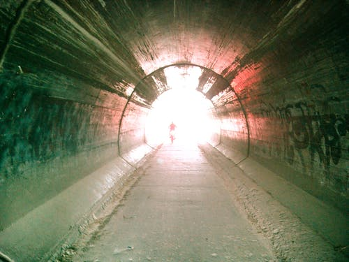 Free stock photo of light, tunel