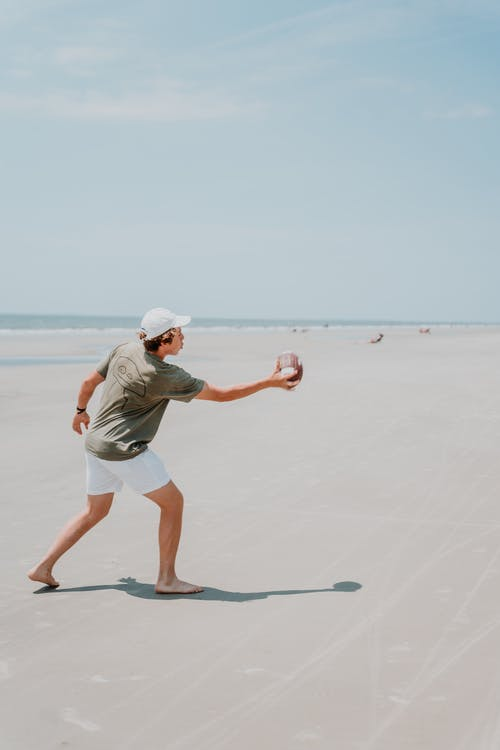 Free stock photo of action, beach, catch