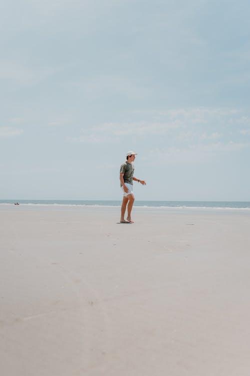 Free stock photo of beach, child, fun