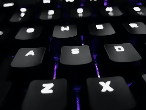 Closeup Photo of Computer Keyboard
