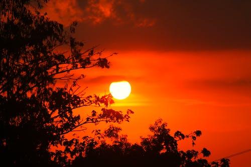 Ilmainen kuvapankkikuva tunnisteilla auringonlasku, aurinko