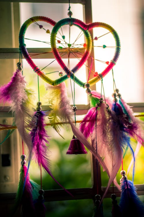Free stock photo of bell, bells, colors, feather