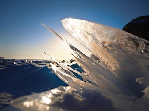 Ảnh lưu trữ miễn phí về ánh sáng, băng, biển, bình minh