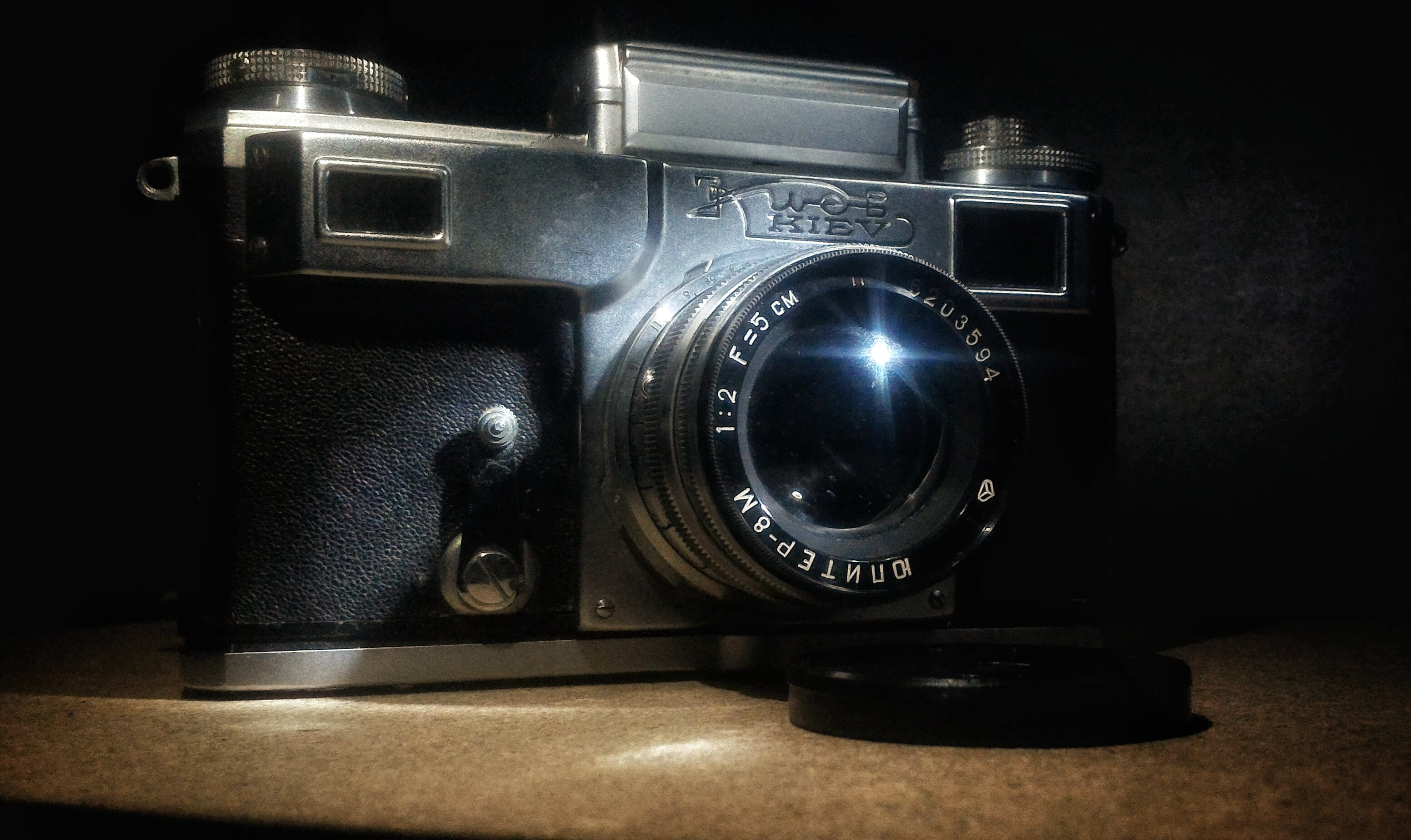 Free stock photo of analog camera, antique, camera, collection