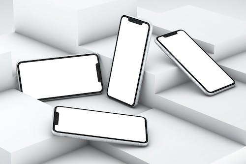 Kostnadsfri bild av 3d iphone, 3d render, äpple