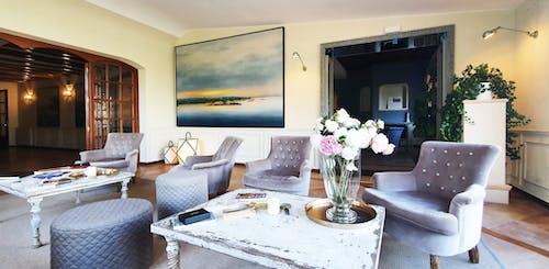 休息区, 別墅, 單人沙發 的 免费素材图片