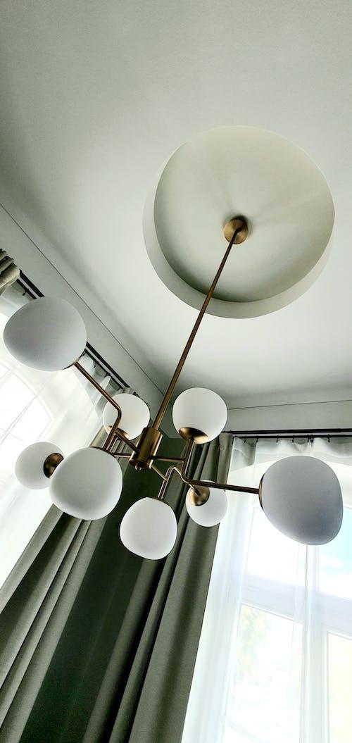 內部, 吊燈, 室內設計 的 免费素材图片