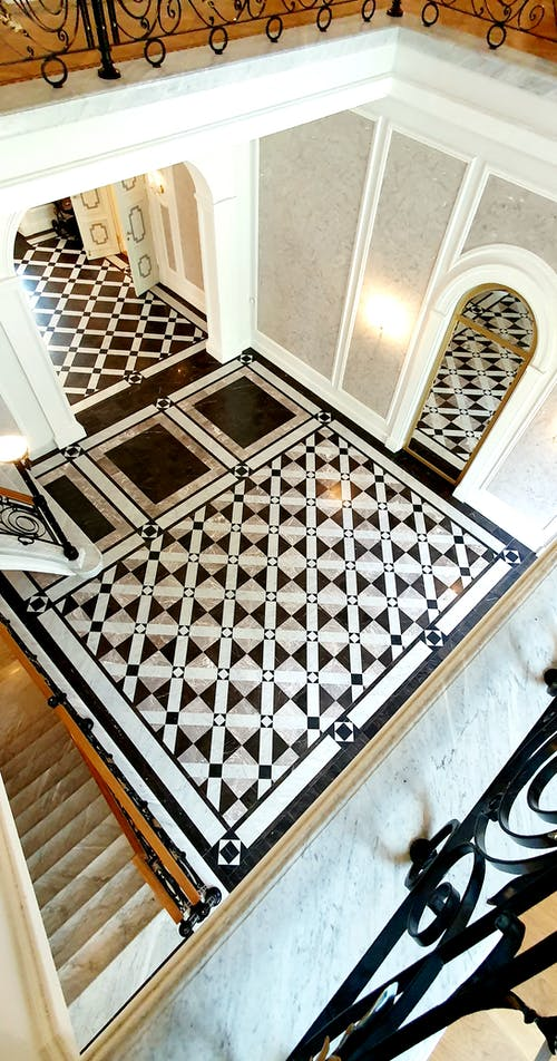地板, 大理石瓷砖, 室內設計 的 免费素材图片