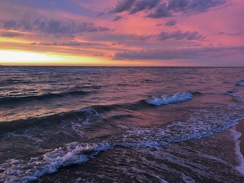 Ảnh lưu trữ miễn phí về bờ biển, đêm, Hoàng hôn