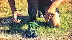 person, summer, grass