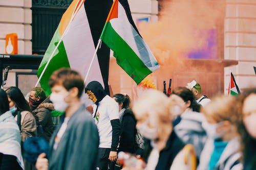 Fotos de stock gratuitas de acto electoral, bandera, bandera de palestina