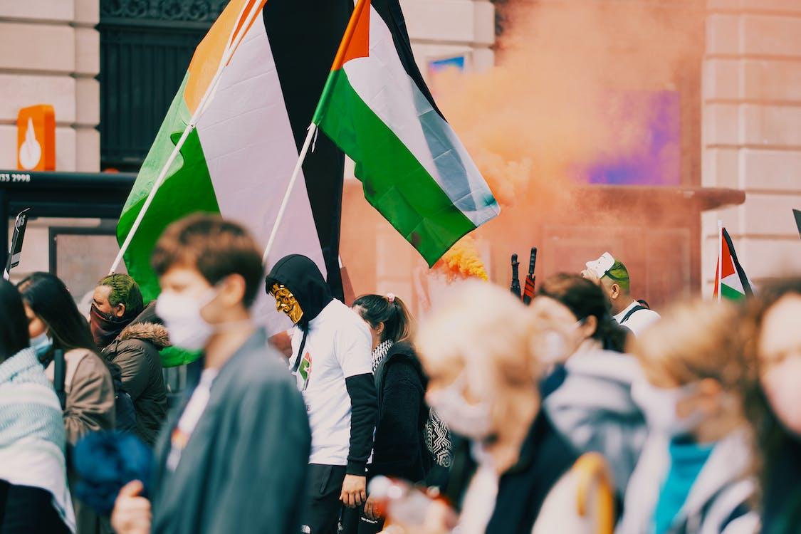 Immagine gratuita di bandiera, bandiera della palestina, bandiera palestinese