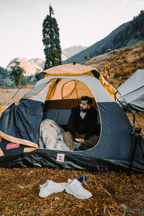 Free stock photo of adult, adventure, camp
