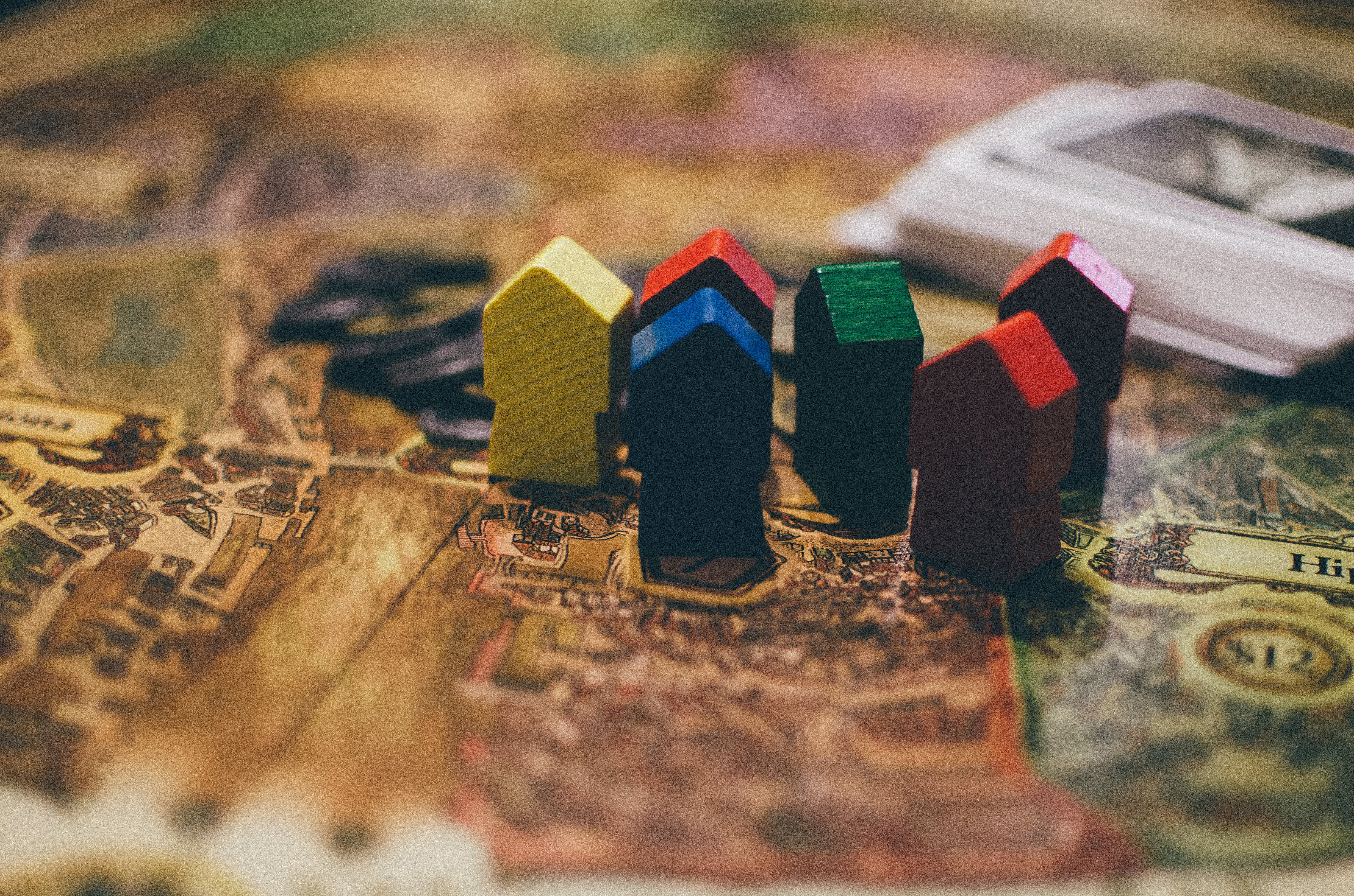 Free stock photo of wood, blur, game, color