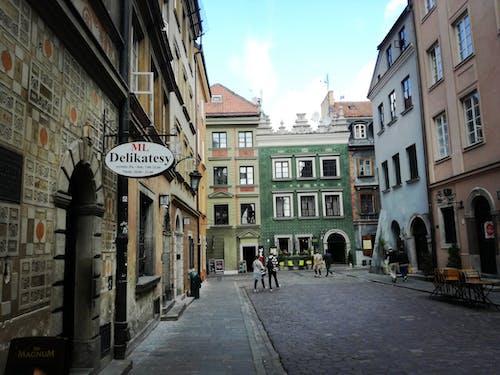 Ingyenes stockfotó boltok, város, városközpont, Varsó témában