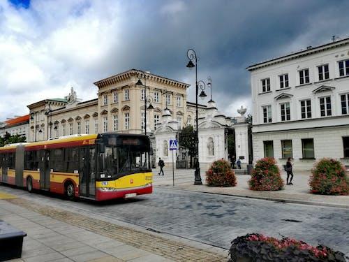 Ingyenes stockfotó egyetem, felhők, Varsó témában