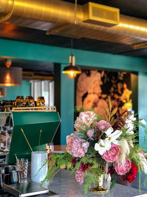 Photos gratuites de à l'intérieur, bouquet, bourse