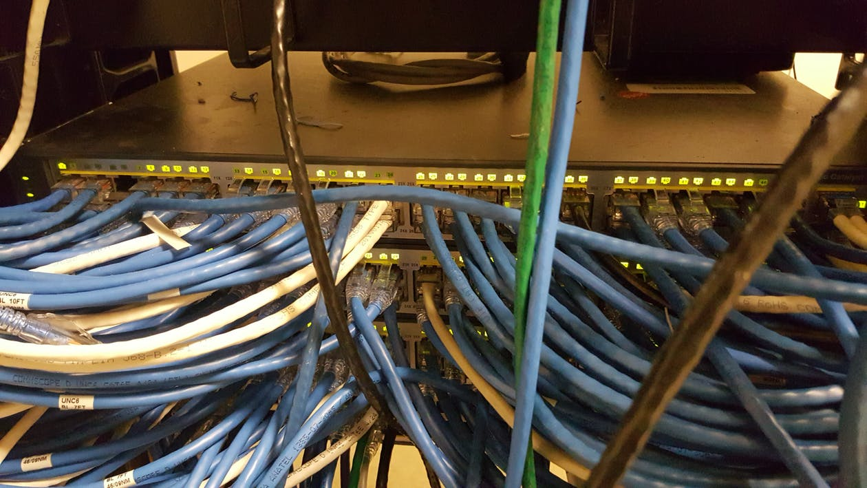 câblage, cat5, cat6