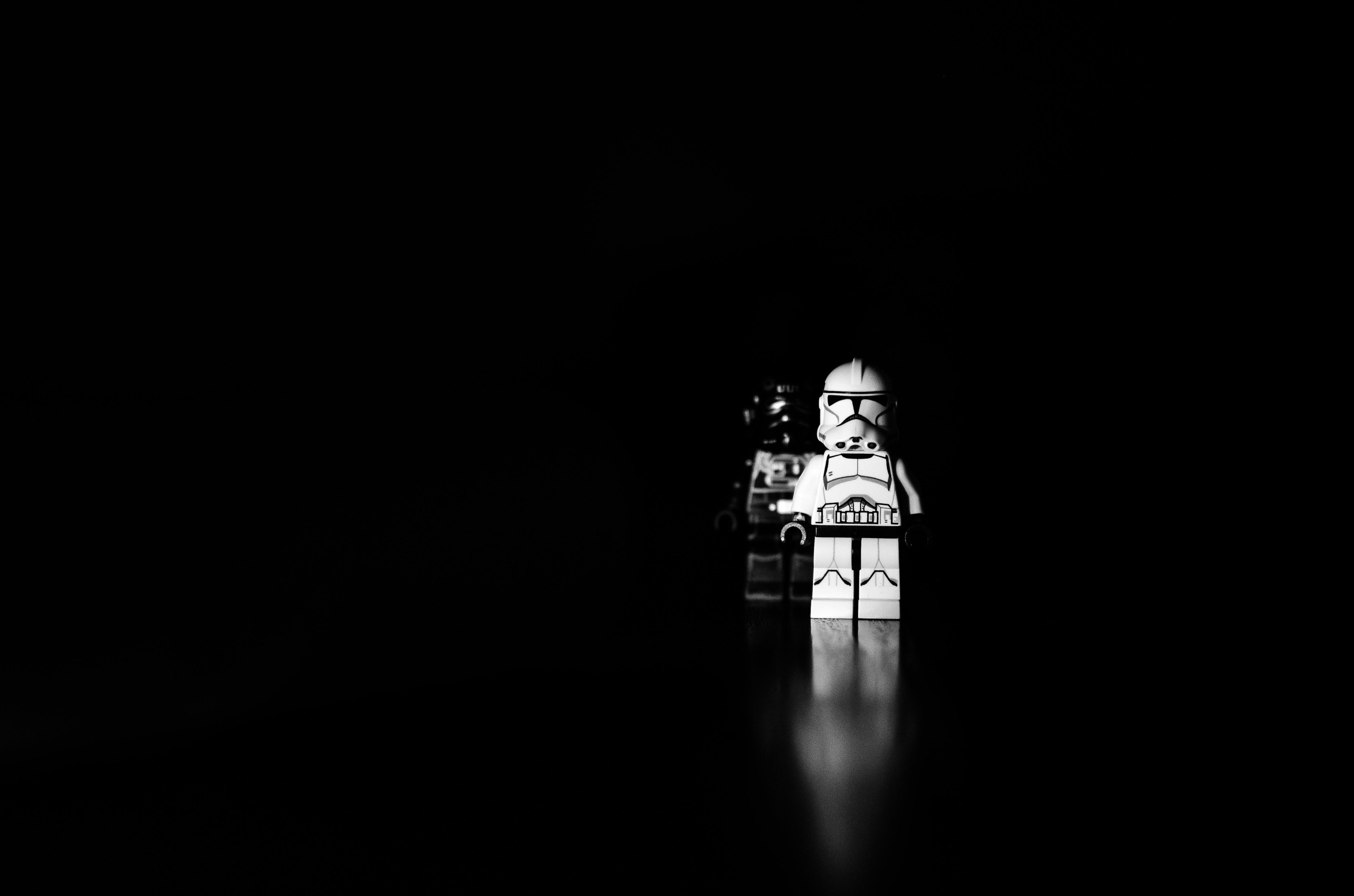 Free stock photo of black-and-white, dark, darkness, spotlight
