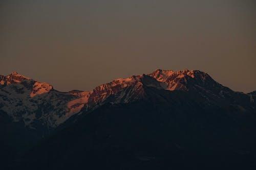 丘, 光, 冬の無料の写真素材