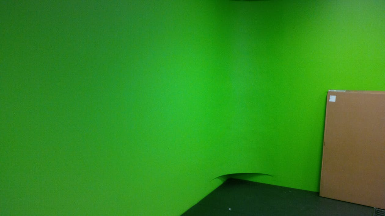 Free stock photo of filming, green screen, movie set
