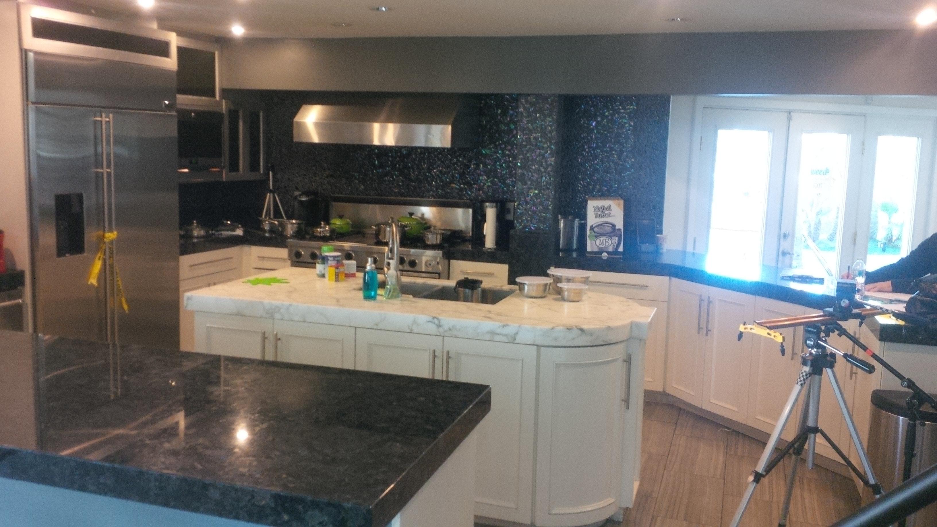 Free stock photo of kitchen set, movie set, production