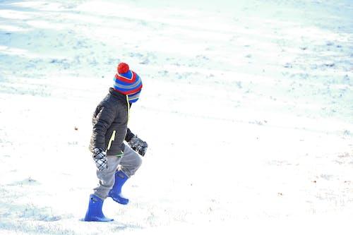 Fotos de stock gratuitas de chaval, dia de nieve, frío, invierno