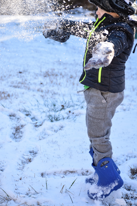 Free stock photo of snow, nature, child, kid
