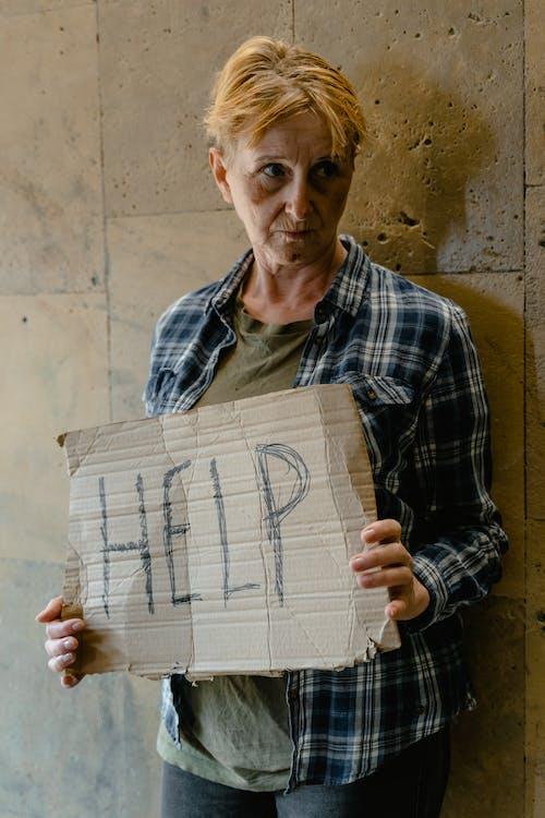 Безкоштовне стокове фото на тему «банер, бездомний, бездомність»