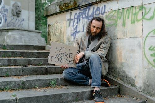 Бесплатное стоковое фото с баннер, бедность, бедный