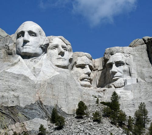 Famous Landmark of Mount Rushmore