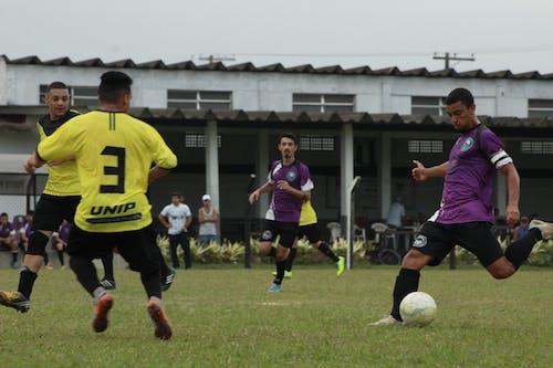 Kostnadsfri bild av boll, estadium, fotboll, fotbollsspelare