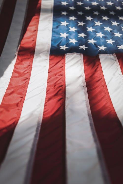 afiş, amerikan bayrağı, arazi içeren Ücretsiz stok fotoğraf