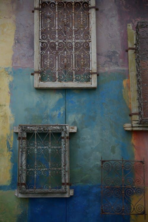 iddialı, murial, renkli duvar, santana row içeren Ücretsiz stok fotoğraf