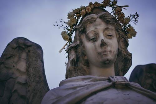 Photo of an Angel Sculpture