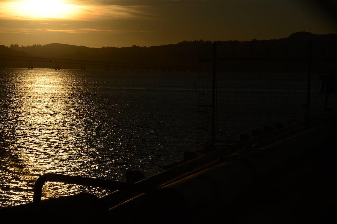 gün batımı, okyanus