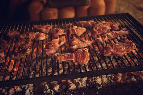 Free stock photo of farming, grill, meat, organic foods