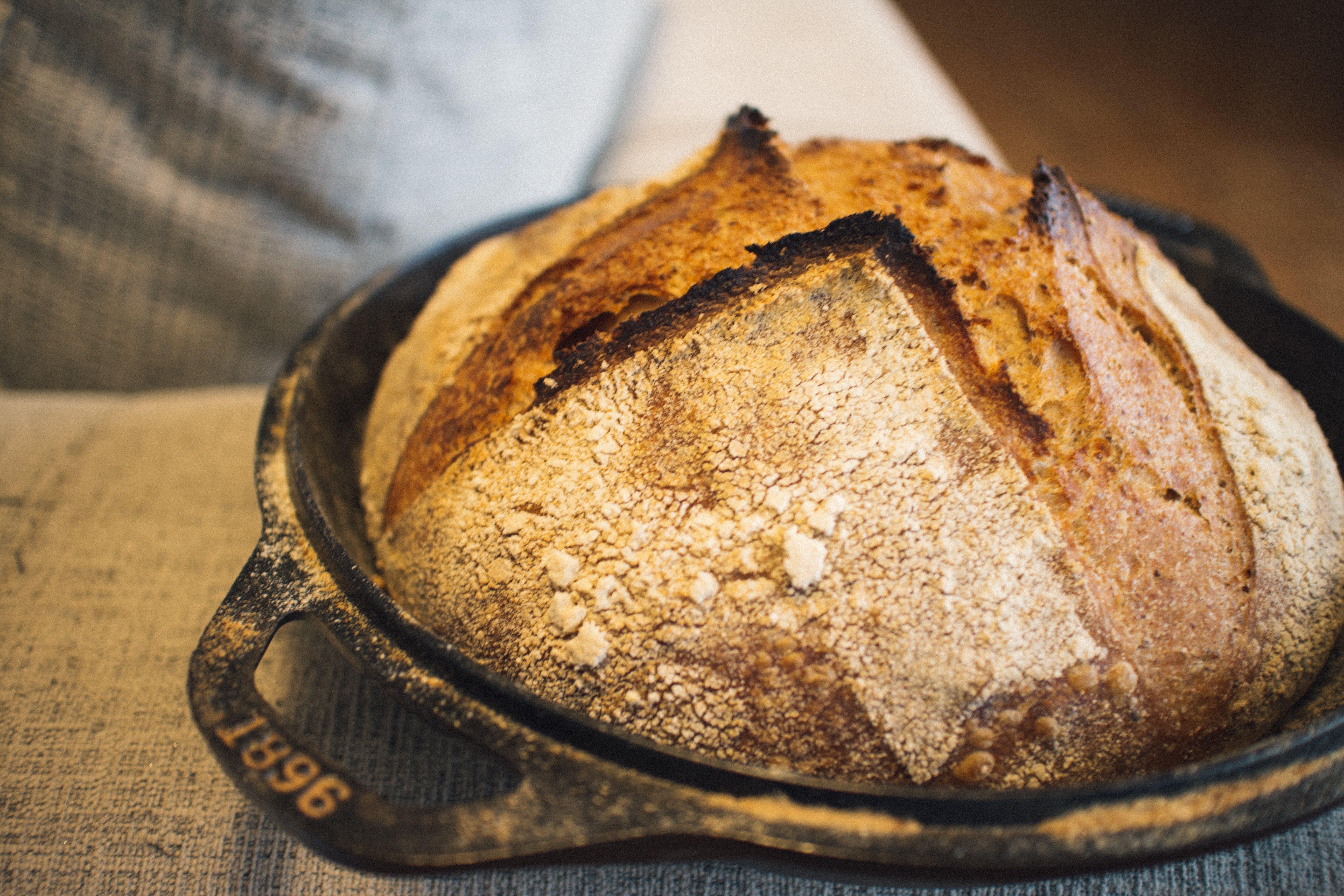 Free stock photo of bake, baking, bread, Dutch oven