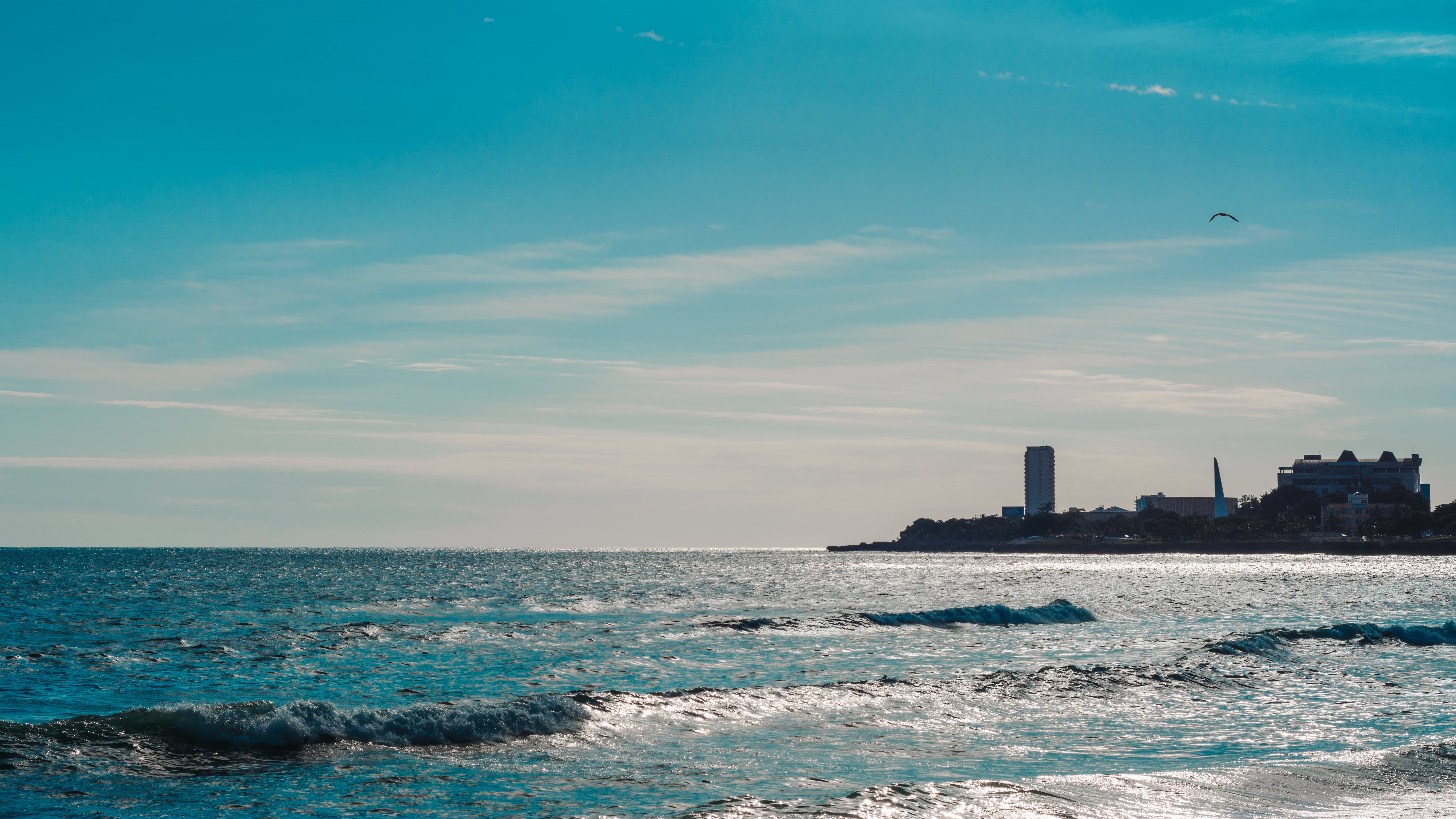 Kostnadsfri bild av blå himmel, hav, moln, strand